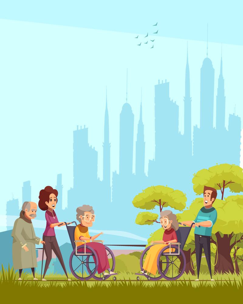 Imagen de la temática Los adultos mayores