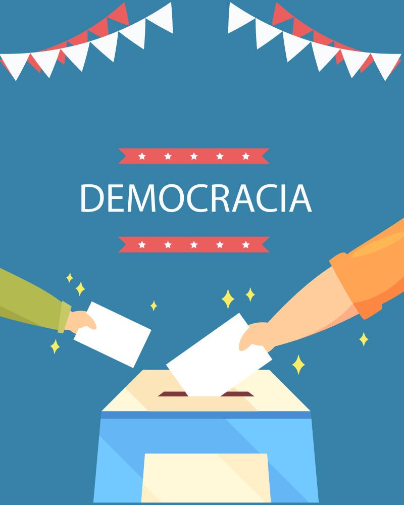 Imagen de la temática Los valores de la Democracia