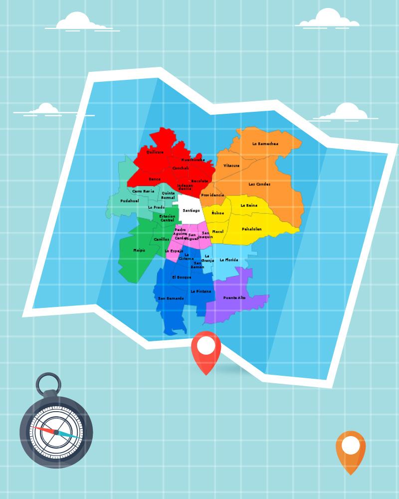 Imagen de la temática Geografía de la Región Metropolitana