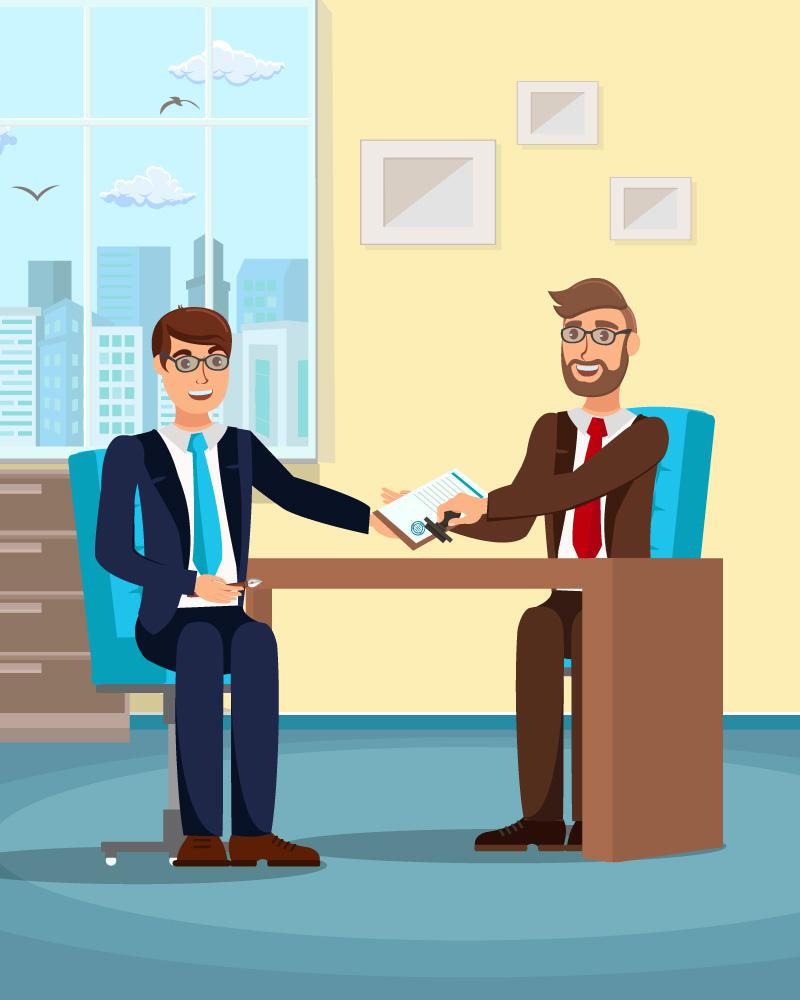 Imagen de la temática El contrato de trabajo