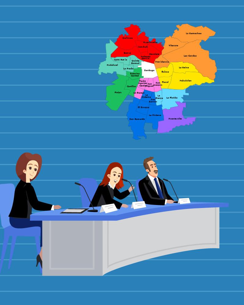 Imagen de la temática El Gobierno Regional Metropolitano