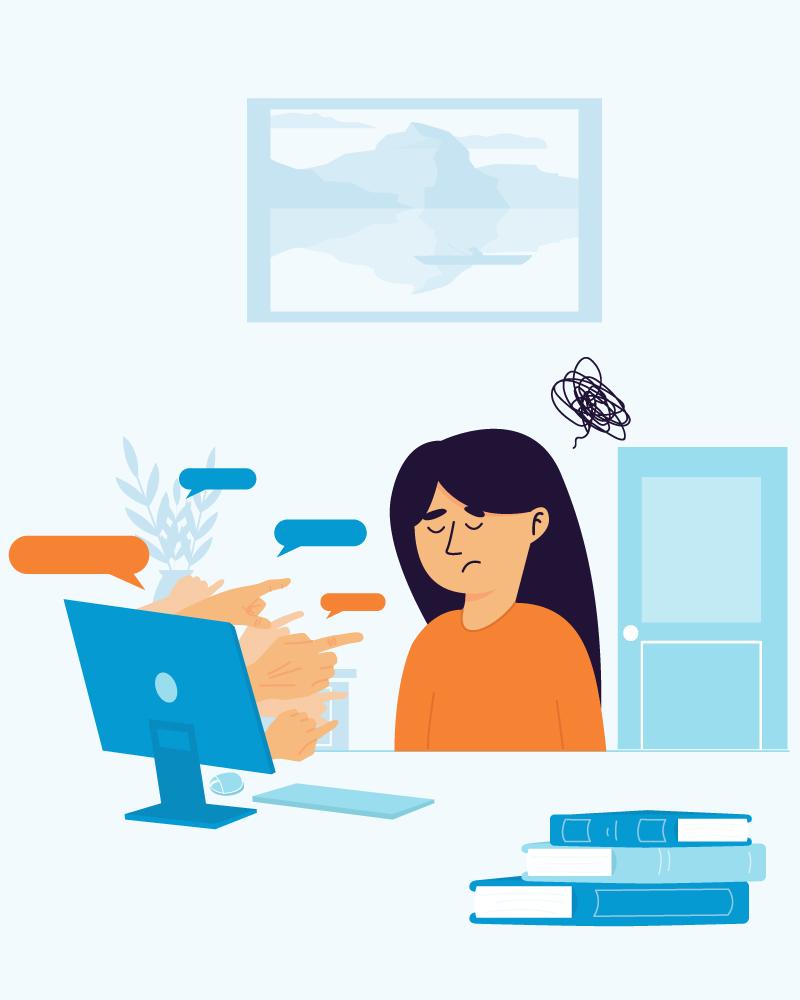 Imagen de la temática Ciberacoso