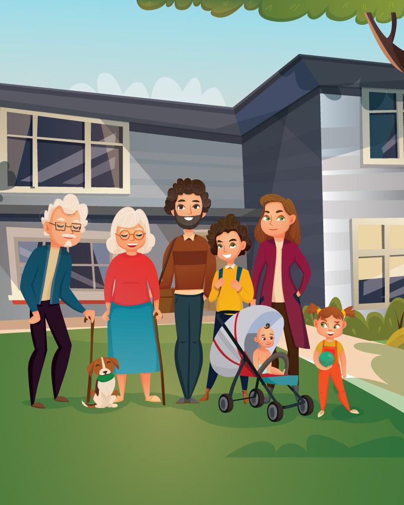 Imagen de la temática La concepción de la familia